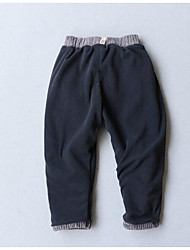 Unisex Casual/Daily Solid Pants-Cotton Winter