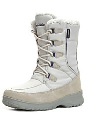 TnTn Women's Snow sports Mid-Calf Boots Winter Anti-Slip / Waterproof / Breathable Shoes White / Light Gray / Brown