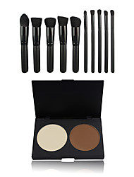 2 Concealer/ContourMakeup Brushes Wet Face Coverage / Concealer China Others