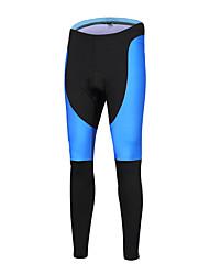 Esportivo Calças Elásticas para Ciclismo Unissexo Respirável / Secagem Rápida / Design Anatômico / Tapete 3D Moto Meia-calça LYCRA®