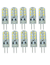 10 Pcs Verkabelt Others G4 24 led Sme3014 DC12 v 350 lm Warm White Cold White Double Pin Waterproof Lamp Other