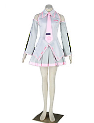 Vocaloid Hatsune Miku Anime Cosplay Costumes Shirt / Skirt / Tie / Sleeves / Headpiece / Stockings Kid