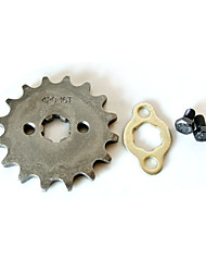 Modified 420 Chain Motorcycle Mini Quad Engine Sprocket 16 Tooth 17MM