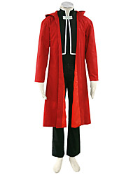 Fullmetal Alchemist Anime Cosplay Costumes Coat / T-shirt/ Pants / Badge / Gloves Kid