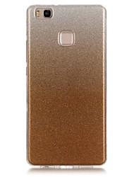 Pour Autre Coque Coque Arrière Coque Dégradé de Couleur Flexible PUT pour Huawei Huawei P9 Lite Huawei P8 Lite Huawei Honor 4C