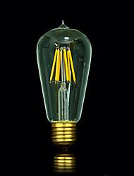 bofa ST58 conduit 5w edison antique lampe boule de soie bulle (85v-265v)