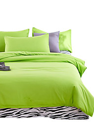 Mingjie Wonderful Green Bedding Sets 4PCS for Twin Full Queen King Size from China Contian 1 Duvet Cover 1 Flatsheet 2 Pillowcases
