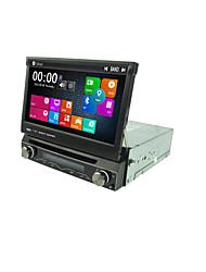 7 Inch 1 Din Car DVD Player Multimedia System Win8 UI MTK3360 GPS Sat Navi EX-3G EX-TV Max.1080P Universal DJ7088LT