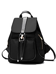 M.Plus® Women's Fashion Korean Solid Nylon Backpack