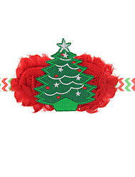Holiday Jewelry Red / Green Canvas Cosplay Accessories Christmas