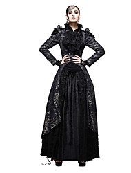 Y-567 Women's Special Occasion / Party/Cocktail / Club Embroidery / Vintage / Punk & Gothic Coat