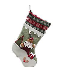 Decoração Decoração Para Festas Ternos de Papai Noel / Elk / Boneco de neve Tecido Para Meninos / Para Meninas 8 a 13 Anos