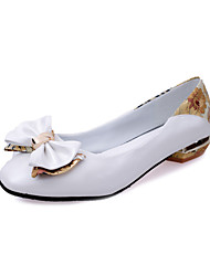 The new bow shallow mouth summer fashion shoes women's shoes with flat