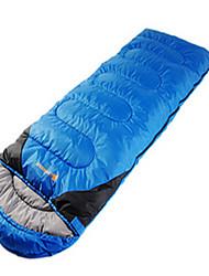Bolsa de dormir Saco Rectangular Sencilla 10 Plumón de PatoX100 Camping Viaje InteriorBien Ventilado Impermeable Portátil Resistente al