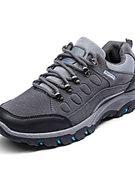 Men's Athletic Shoes Spring Fall Comfort Spandex Fabric Casual Flat Heel Lace-up Black Gray Dark Green Hiking