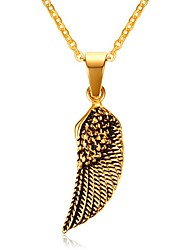 Men's Pendant Necklaces Jewelry Christmas Tree Christmas/Birthday/Party/Daily/Casual Fashion Gold Plated Golden 1pc Gift