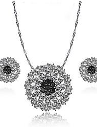 Women's Jewelry Set Earrings Set Fashion Luxury Zircon Cubic Zirconia Copper Jewelry For Daily Casual
