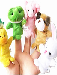Stuffed Animal Toys With Feet Color Even Finger Random