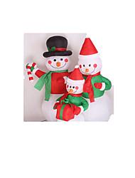 natal boneco de neve inflável