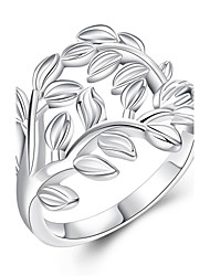 Anéis Casamento / Festa / Diário / Casual Jóias Cobre / Prata Chapeada Feminino Anel 1pç,7 / 8 Cobre