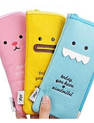 Plush Pencil Creative Expression Multifunctional Storage Bags