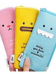 crayon en peluche expression créative stockage multifonctionnel sacs