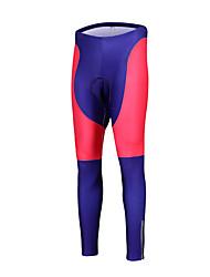 Esportivo Calças Elásticas para Ciclismo Mulheres Respirável / Secagem Rápida / Design Anatômico / Tapete 3D Moto Meia-calça LYCRA®