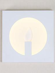 AC 85-265 12W LED Intégré Moderne/Contemporain Peintures Fonctionnalité for LED,Eclairage d'ambiance Chandeliers muraux Applique murale