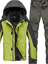 Trilha Blusas / Calças Mulheres / Homens Impermeável / Mantenha Quente / A Prova de Vento / Isolado / Confortável Primavera / Outono