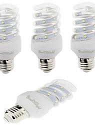 5W E26/E27 Lâmpadas Espiga T 12 SMD 2835 420 lm Branco Quente / Branco Frio Decorativa AC 220-240 V 4 pçs
