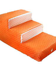 Dog Bed Pet Mats & Pads Casual/Daily Orange Plush