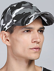 Unisex Vintage Casual Cotton Dome Camouflage Printing Military Baseball Cap