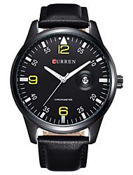 Men's Sport Watch Military Watch Dress Watch Fashion Watch Wrist watch Quartz Japanese Quartz Calendar Water Resistant / Water Proof