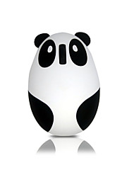 Mute Button Panda Charging Mouse 1000 DPI Mini / Novelty Mouse with Wireless 2.4GHz