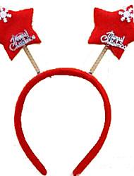 Jóias de Férias Vermelho Resina Acessórios de Cosplay Natal