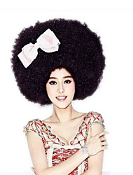 Ball Bar Performance Supplies Children'S Holiday Wig Increase The Explosion Head Black Large Curls