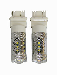 corolle conduit inverse lampe t20 super brillante lampe de secours LED peut-bus lampe led 7440/7443
