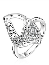 Jewelry Women Sterling Silver Silver Ring Statement Rings