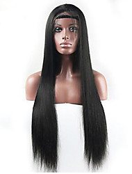 Top quality Human Hair Wigs Full Lace Wig Lace Front Glueless 100% Brazilian Virgin Human Hair Straight Natural Color