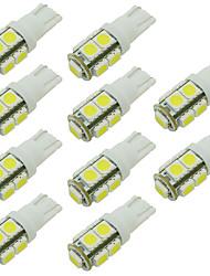 W5W 168 194 t10 9 cms conduit ampoule de voiture pour le marqueur / lumière de la porte de lecture / côté chaud froid whie 12v dc / (10