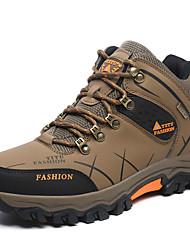 Коричневый Зеленый Фиолетовый Серый-Мужской-Повседневный-Полиуретан-На плоской подошве-Удобная обувь-Спортивная обувь