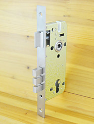 85MM Door Mortise Lock with Cylinder Hole Lock Body Brushed Nickel Steel