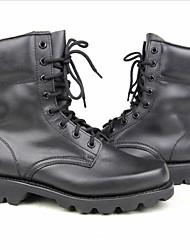 Для мужчин Ботинки Удобная обувь Кожа Повседневные Удобная обувь Черный Менее 2,5 см