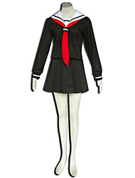 Hell Girl Anime Cosplay Costumes Top / Skirt / Scarf  Kid
