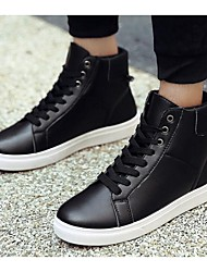 Men's Sneakers Comfort Tulle Casual Black White
