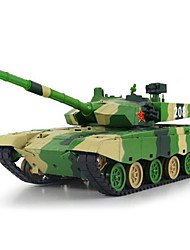 Tank XQ 1:24 RC Car Green Ready-To-Go Tank / Remote Controller/Transmitter / Battery Charger / Battery For Car