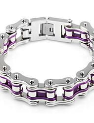 Kalen Heavy Chunky Bike Chain Bracelets For Men 316 Stainless Steel Bicycle Link Chain Bracelets Male Fashion Jewelry Accessories