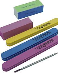 6pcs/set Kits Nail Art Prego Kit Art Ferramenta de Manicure maquiagem Cosméticos DIY Nail Art