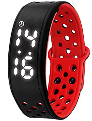 NONE Smart Bracelet Water Resistant/Waterproof / Long Standby / Calories Burned / Pedometers / Sports / Alarm Clock / WearableiOS /