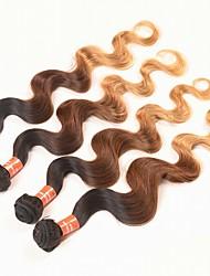 4 Pièces Ondulation naturelle Tissages de cheveux humains Cheveux Brésiliens 0.2kg 8-30 inch Extensions de cheveux humains